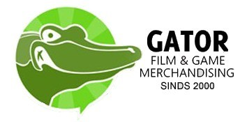 Gator Film & Game Merchandise