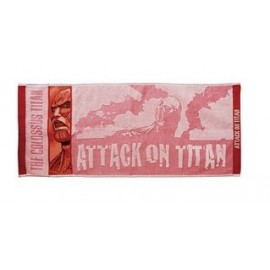 ATTACK ON TITAN Face Towel Titan