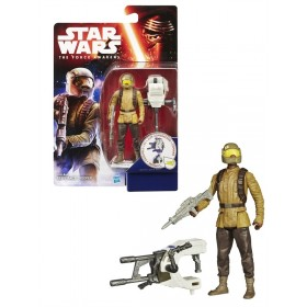 The Force Awakens 3 3/4-Inch (10cm) Jungle and Space Resistance