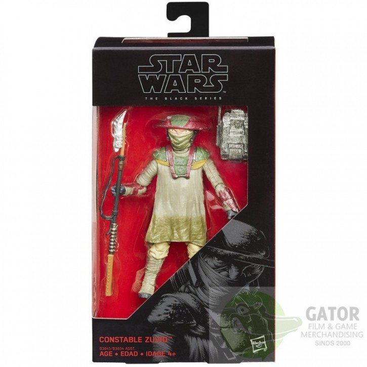 Star Wars The Force Awakens 6 Inch (15cm) Figure The Black Series Wave 2 - Constable Zuvio 09