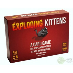 Exploding Kittens: A Card Game About Kittens and Explosions and