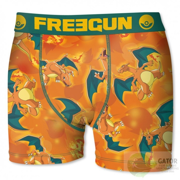 Pokemon boxershort Charizard merk Freegun Herenmaat
