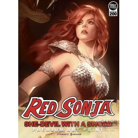 Red Sonja She-Devil with a Sword Art Print by Sideshow Collectibles