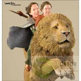 The Chronicles of Narnia: Girls on Aslan Weta Collectibles