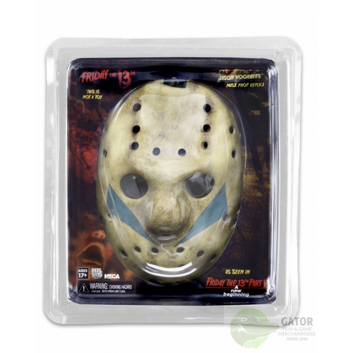 Friday the 13th Part 5 Replica Jason Mask