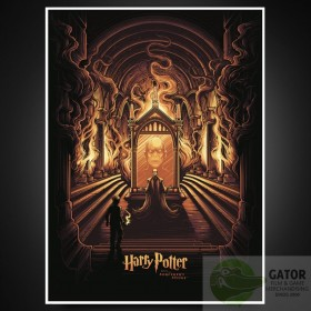 Harry Potter Art Print Harry Potter & the Mirror of Erised 61 x 46 cm