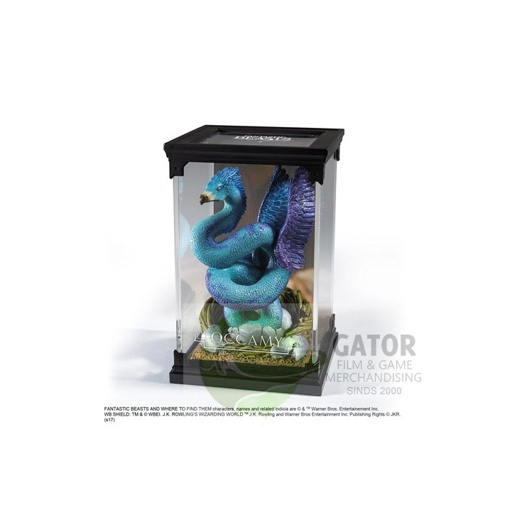 Noble collection Magical creatures - Occamy - Fantastic Beasts statue