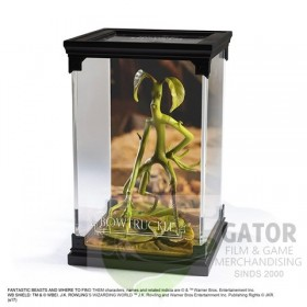 Noble collection Magical creatures - Bowtruckle - Fantastic Beasts statue
