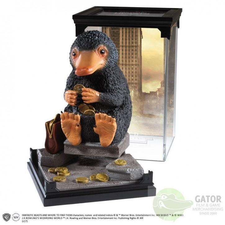 Noble collection Magical creatures - Niffler - Fantastic Beasts statue