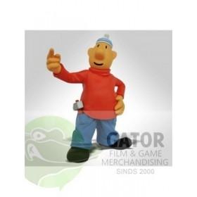 Buurman & Buurman pvc figuur 8cm Rood