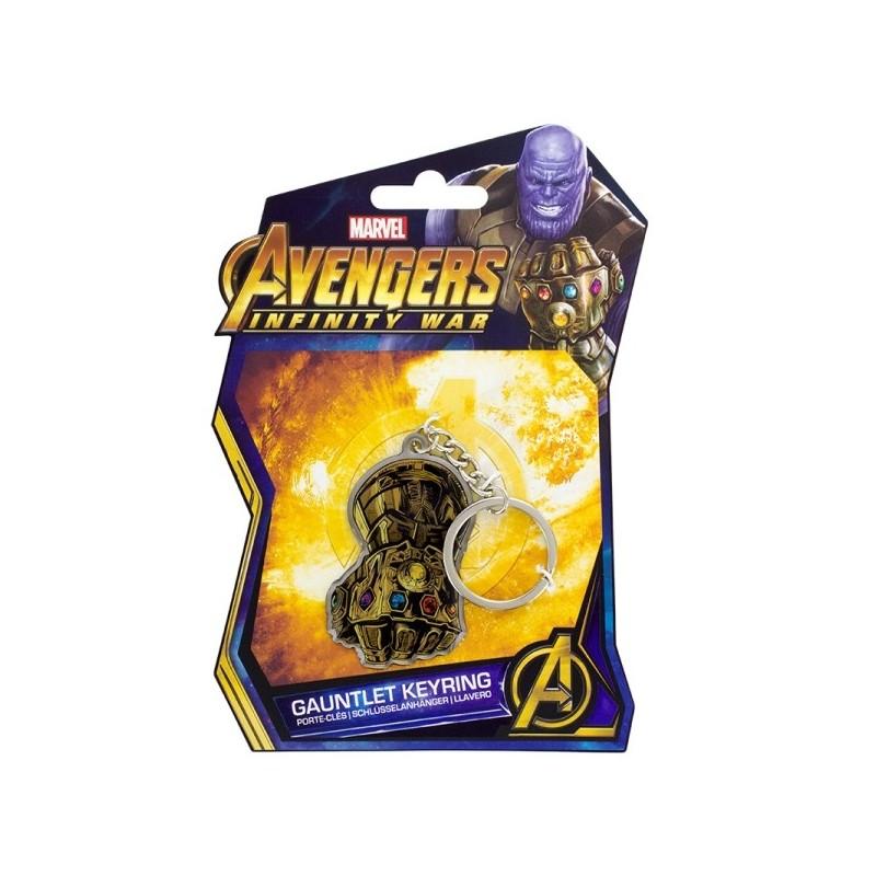 Marvel: Avengers Infinity War - Gauntlet Keyring sleutelhanger