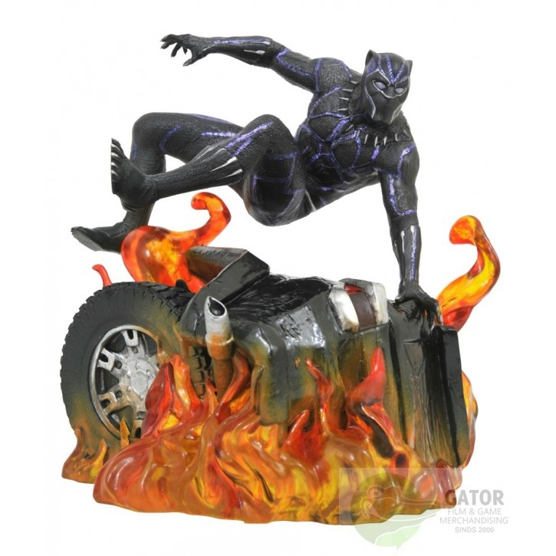 Marvel Gallery: Black Panther - Black Panther Version 2 PVC Statue 22cm