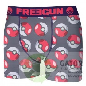 Pokemon boxershort Pokeball merk Freegun Herenmaat