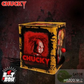 Bride of Chucky Burst-A-Box Music Box Scarred Chucky 36 cm