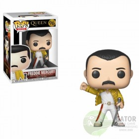 Funko Queen POP! Rocks Vinyl Figure Freddie Mercury Wembley 1986 9 cm