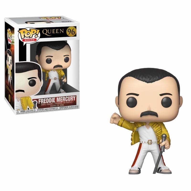 Funko Queen POP! Rocks Vinyl Figure Freddie Mercury Wembley 1986 9 cm