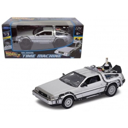 Back to the Future II Diecast Model 1/24 ´81 DeLorean LK Coupe Fly Wheel