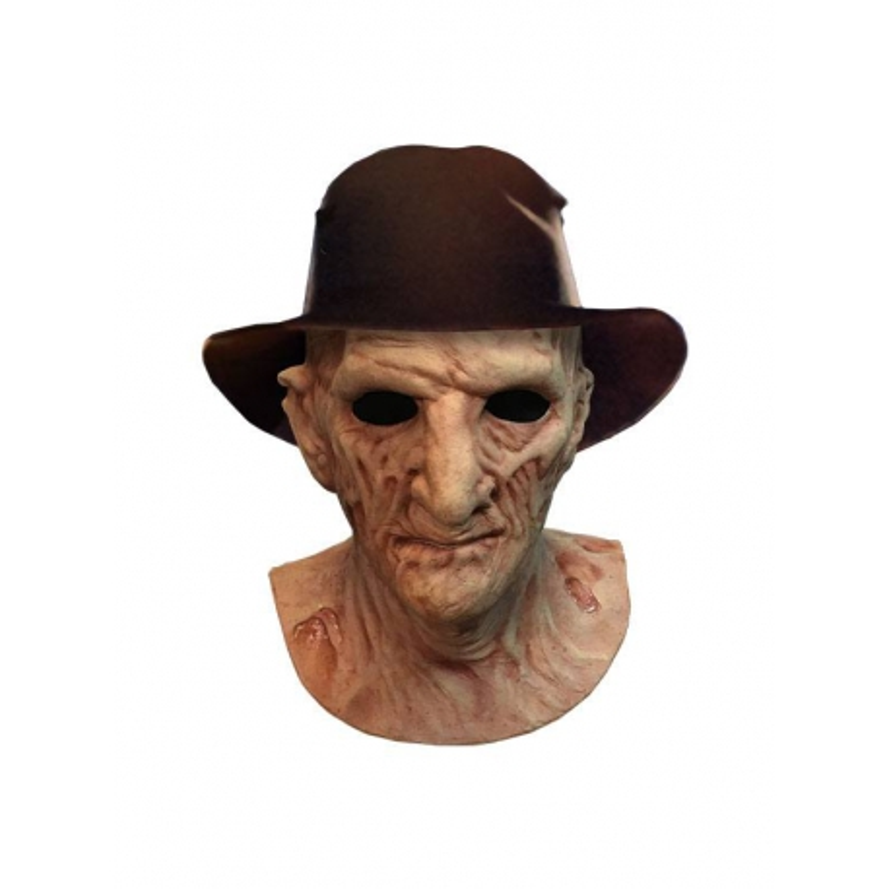 A Nightmare on Elm Street 2: Freddy's Revenge Deluxe Latex Mask with Hat Freddy Krueger