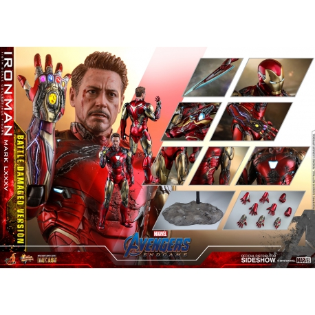 Hot Toys Avengers: Endgame MMS Diecast Action Figure 1/6 Iron