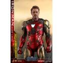 Hot Toys Avengers: Endgame MMS Diecast Action Figure 1/6 Iron Man Mark LXXXV Battle Damaged Ver. 32 cm