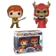 POP! Disney Vinyl Figures Taran & Horned King (2-Pack) [Summer Convention] 9cm