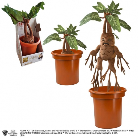 Noble Collection Harry Potter Interactive Plush Figure Mandrake 40 cm
