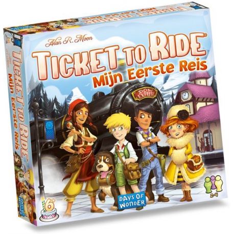Ticket to Ride Mijn Eerste Reis - Bordspel