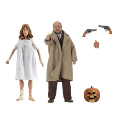 Neca Halloween 2 Retro Action Figure 2-Pack Doctor Loomis &