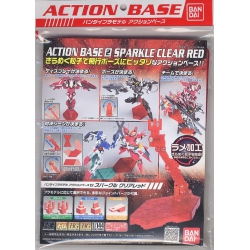 Gundam: Action Base: 2 Sparkle Clear Red