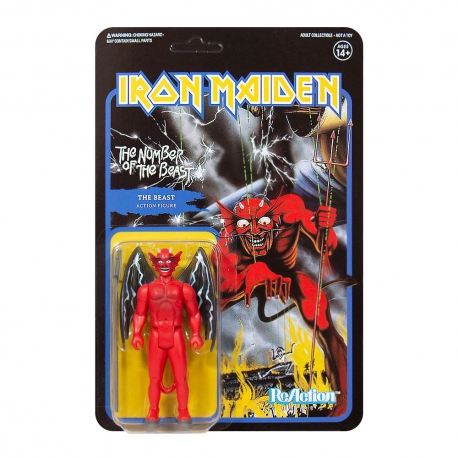 Iron Maiden ReAction Action Figure Wave 2 The Number of the