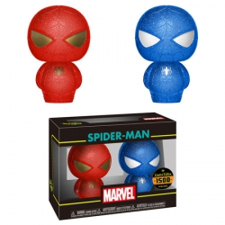Funko Hikari XS: Marvel Spider-Man 2-pack (Blue & Red)