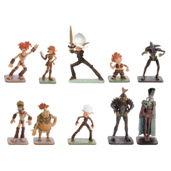 Arthur and the Invisibles figure set (10 figurines)