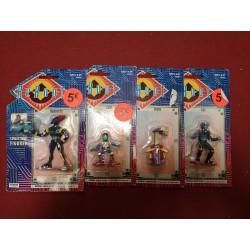 ReBoot set van 4 collectible figures 5-6cm (box damage)
