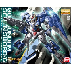 Gundam model kit: GN-0000GNHW/7SG 00 Gundam Seven Sword/G MG