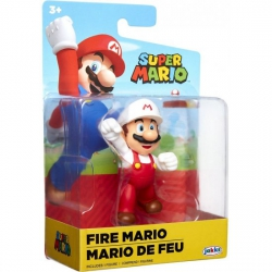 World of Nintendo 6 cm Fire Fist Bump Mario
