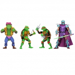 TMNT: Turtles in Time Series 2 - 7 inch (17cm) actiefiguren set