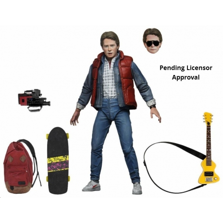 Neca Back to the Future: Ultimate Marty 7 inch (18cm) Action