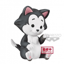 Disney Cutte! Fluffy Puffy Mini Figure Figaro 4 cm