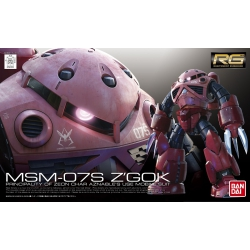Gundam Model Kit MSM-07S Z'Gok (Char Aznable's Use) RG 1/144