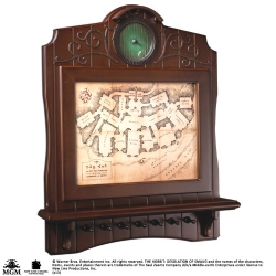 The Hobbit Bag End Map Plaque Key Holder