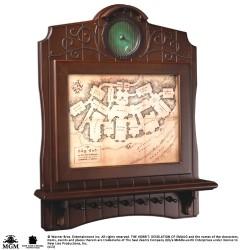 The Hobbit Bag End Map Plaque Key Holder