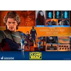 Hot Toys Star Wars The Clone Wars Action Figure 1/6 Anakin