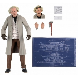 Neca Back to the Future: Ultimate Doc Brown 7 inch (17cm)