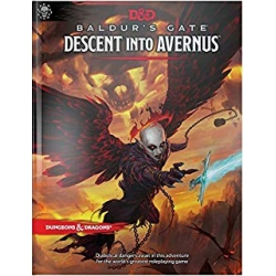 Dungeons & Dragons D&D Adventure: Baldurs Gate Descent into