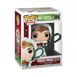 Funko Pop! DC: Holiday - Wonder Woman with Lights Lasso
