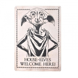 Harry Potter: Dobby Metal Sign