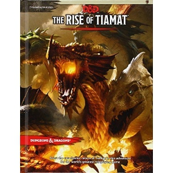 Dungeons & Dragons D&D 5.0 THE RISE OF TIAMAT TRPG