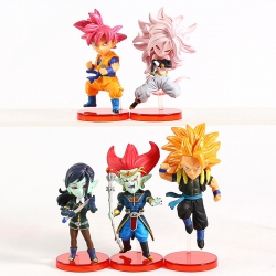 Super Dragon Ball Heroes WFC set 6cm (set of 5)