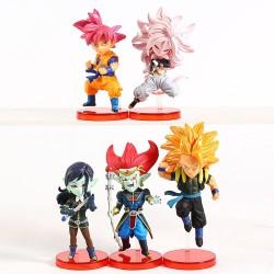 Super Dragon Ball Heroes WFC set 6cm (set of 5)