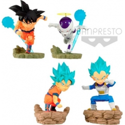 Dragon Ball Super: World Collectible Diorama set 6cm (set of 4)